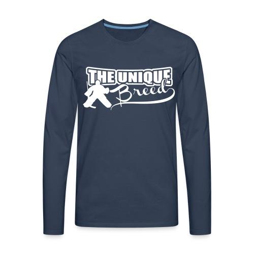 The Unique Breed Men's Long Sleeve T-Shirt - Men's Premium Longsleeve Shirt