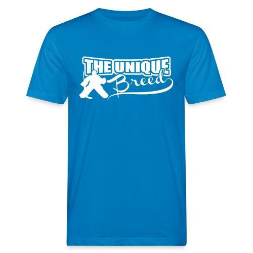 Ice Hockey Goalie Men's Organic T-Shirt - Men's Organic T-Shirt