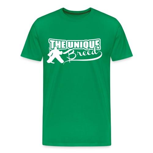 Ice Hockey Goalie Men's Premium T-Shirt - Men's Premium T-Shirt