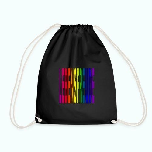 lebensfreude regenbogenfarben