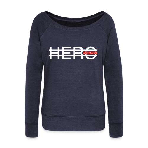 ARMED NATION GIRLY U SWEATER HERO 2016 - Frauen Pullover mit U-Boot-Ausschnitt von Bella