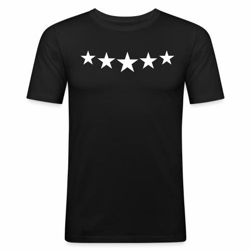 Dunhef Classic Stars Tee - slim fit T-shirt