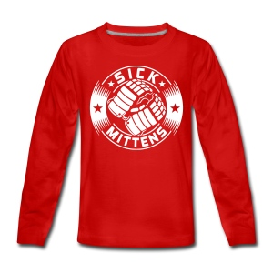 Sick Mittens Teenager's Long Sleeve T-Shirt - Teenagers' Premium Longsleeve Shirt