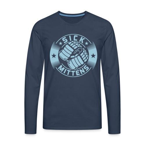 Sick Mittens Men's Long Sleeve T- Shirt - Men's Premium Longsleeve Shirt