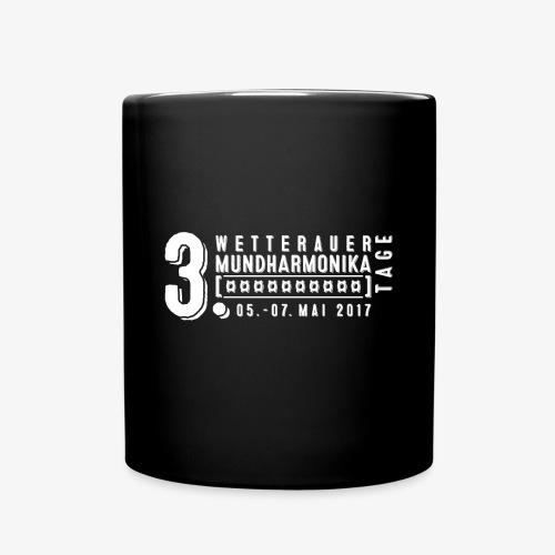 Kaffeetasse Wetterauer Mundharmonikatage 2017  - Tasse einfarbig