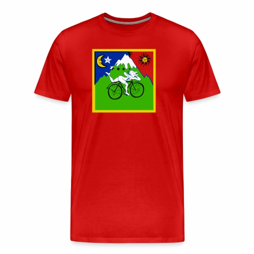 Bicycle Day Red - Men's Premium T-Shirt
