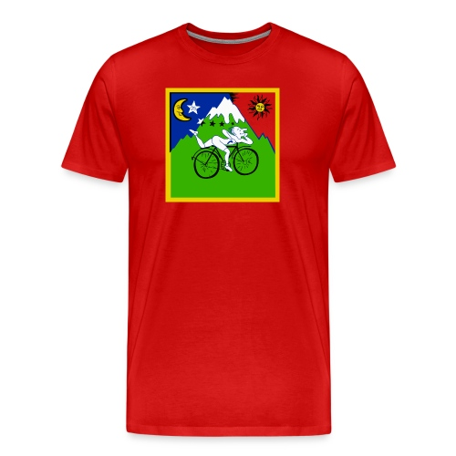 Bicycle Day Red - Men's Premium T-Shirt