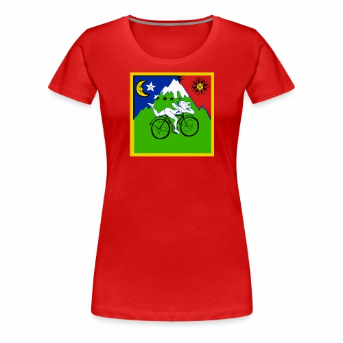 Bicycle Day Red Girls - Women's Premium T-Shirt