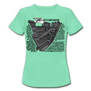 Jacobs simpla slotts-konstruktion - T-shirt dam