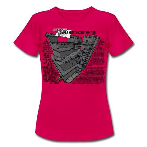 Jacobs simpla slotts-konstruktion - T-shirt dam