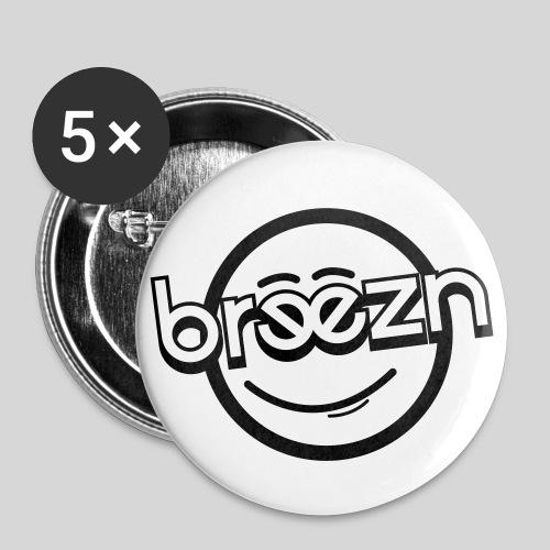BRZN-Buttons - Buttons mittel 32 mm