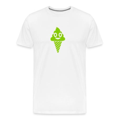 Smiling Ice Cream - Männer Premium T-Shirt