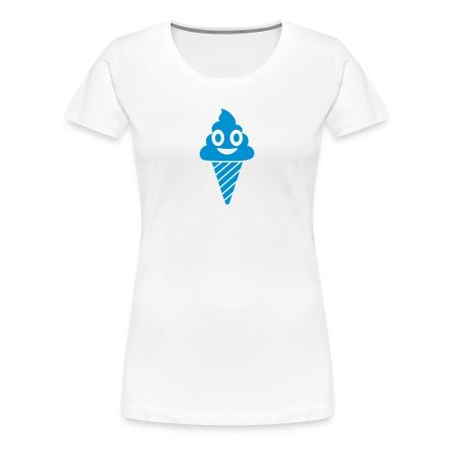 Smiling Ice Cream - Frauen Premium T-Shirt