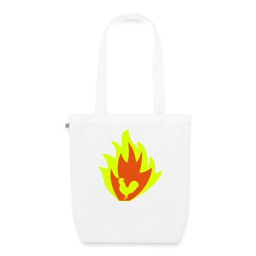 ROOSTER OF FIRE - EarthPositive Tote Bag