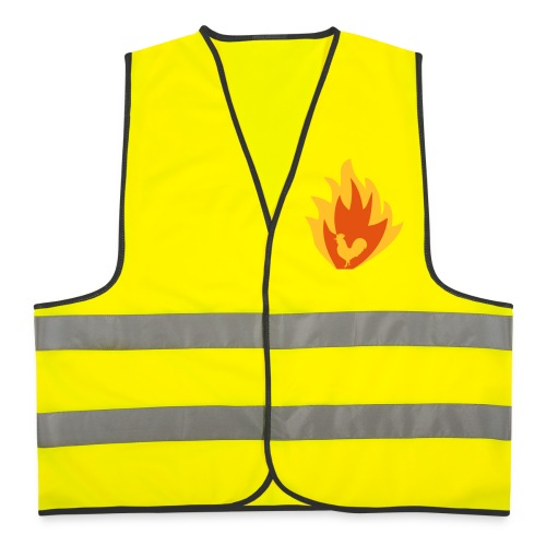 ROOSTER OF FIRE - Reflective Vest