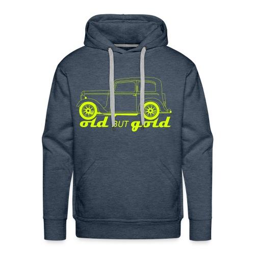 old but gold - Men's Premium Hoodie