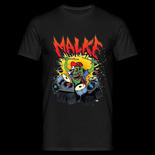 Malke  - Monster - Black - Camiseta hombre