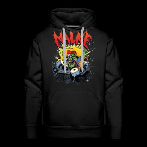 Malke - Hoody - Monster - Black - Sudadera con capucha premium para hombre