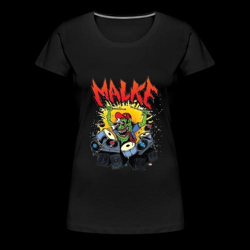 Malke - Monster - Black - Camiseta premium mujer