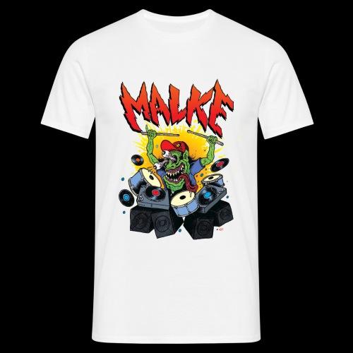 Malke - Monster - White - Camiseta hombre