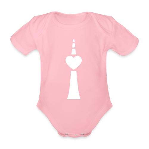 Mädchen Strampler Prenzlauer Berg - Baby Bio-Kurzarm-Body