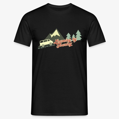 Learning by Touring - Männer T-Shirt