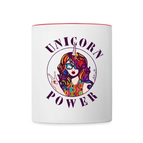 UNICORN POWER - MUG - Mug contrasté