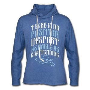 Noble As Goaltending Unisex Light Hoodie - Light Unisex Sweatshirt Hoodie