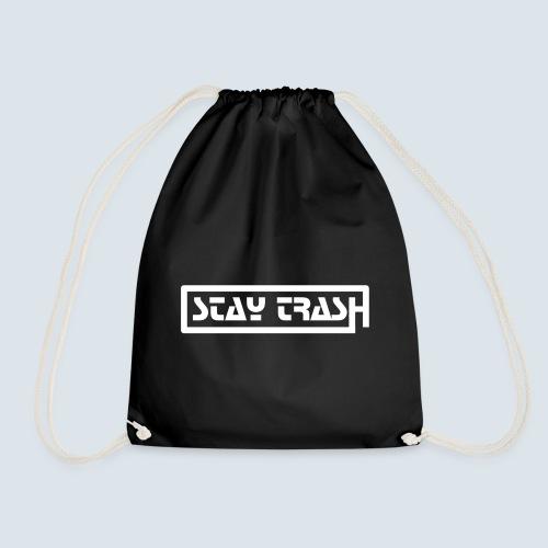 STAY-TRASH Bag - Drawstring Bag