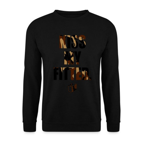 Kiss my Fitted - Desertcamo (Fitted Cake) - Männer Pullover