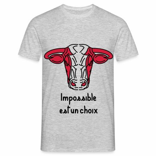taureau guerrier t-shirt - T-shirt Homme