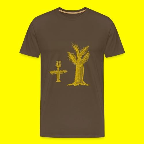 borstiger Baumflattermann - Men's Premium T-Shirt