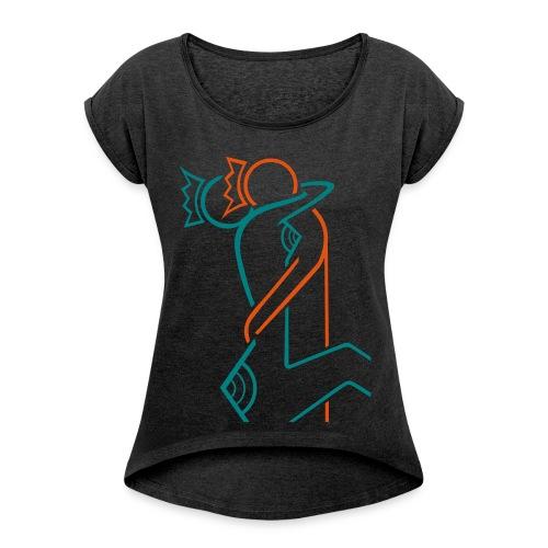ALL YOU NEED IS LOVE - T-shirt à manches retroussées Femme