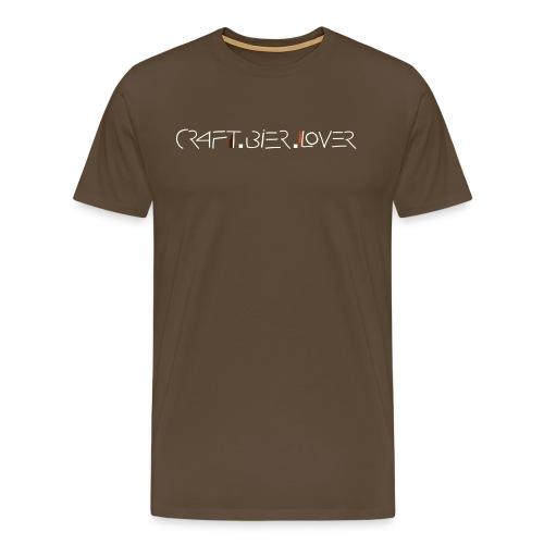 T-Shirt craft.bier.lover - Männer Premium T-Shirt