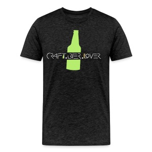 T-Shirt craft.bier.lover Bottle - Männer Premium T-Shirt