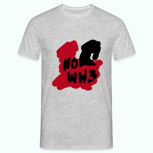 no worldwar 3 T-Shirts - Men's T-Shirt