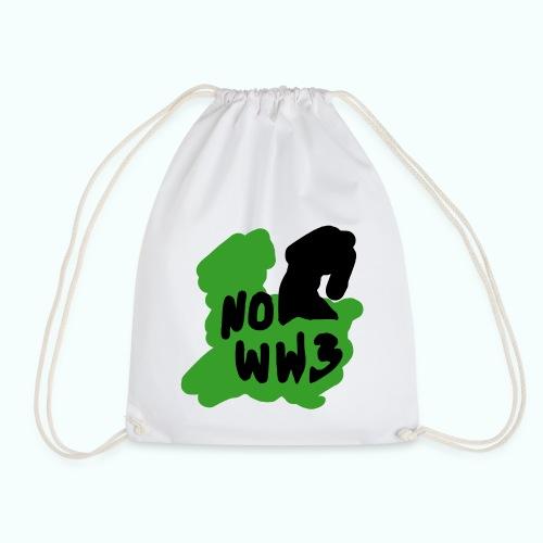 no worldwar 3 Taschen & Rucksäcke - Drawstring Bag