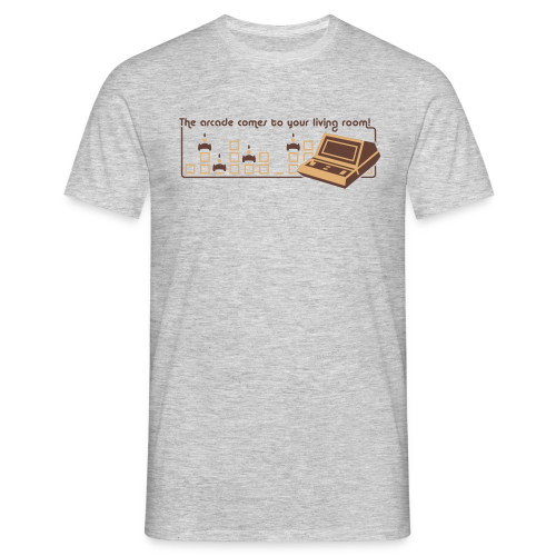 The Arcade Comes To Your Living Room - Männer T-Shirt
