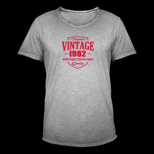 Vintage 1982 | Men - Männer Vintage T-Shirt