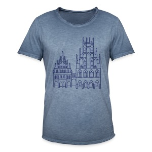 Rathaus Münster - Männer Vintage T-Shirt