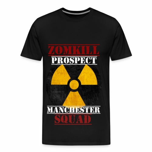 Manchester Prospect Mens T-Shirt - Black   - Men's Premium T-Shirt