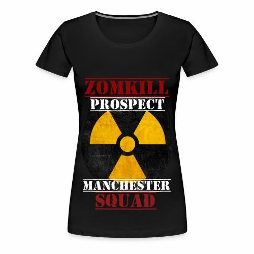 Manchester Prospect Womens T-Shirt - Black   - Women's Premium T-Shirt