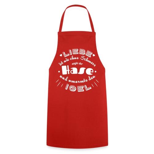 Liebe Hase Igel - Kochschürze