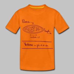 T-shirt ado Pi.z.z.a - Teenage Premium T-Shirt