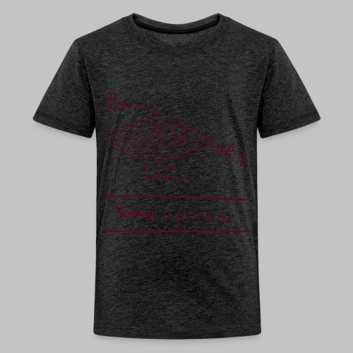 T-shirt ado Pi.z.z.a - Teenage Premium T-Shirt