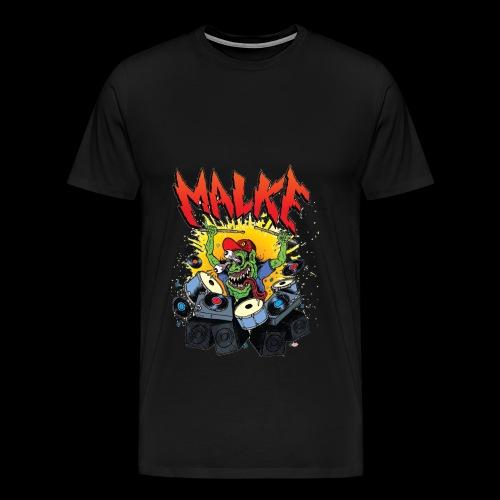 Malke - Premium -Monster - Black - Camiseta premium hombre