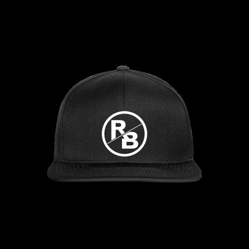 BLACK SNAPBACK - LOGO FRONT - Snapback Cap