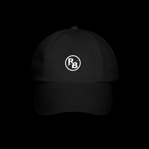 BLACK CAP - LOGO FRONT - Baseballkappe