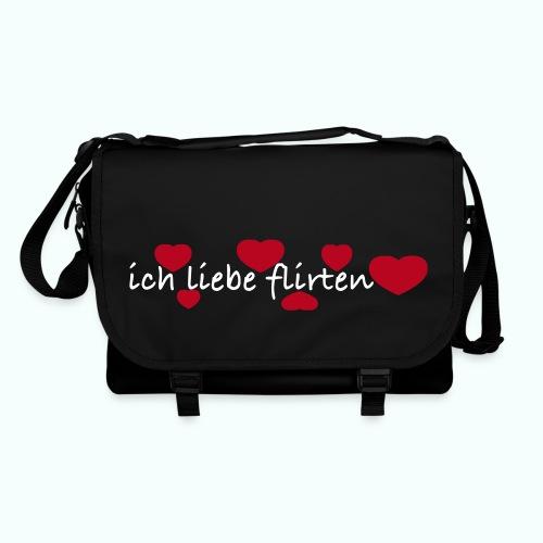 ich liebe flirten  Taschen & Rucksäcke - Shoulder Bag