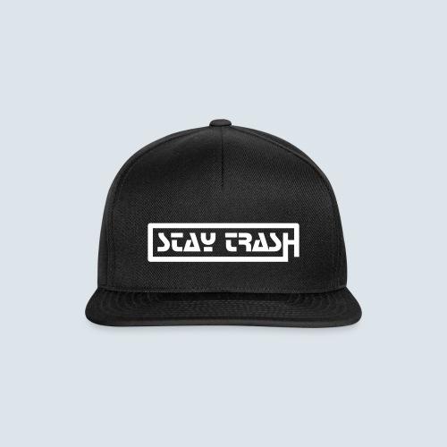 STAY-TRASH Cap - Snapback Cap